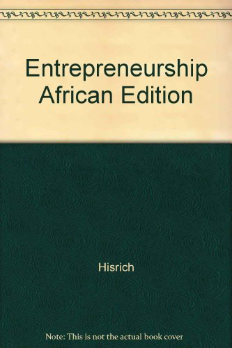 9780077126841: Entrepreneurship African Edition