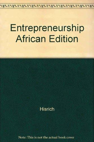 9780077126841: Entrepreneurship African Edition