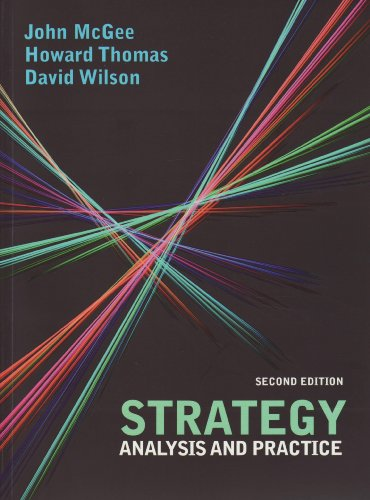 9780077126919: Strategy: Analysis and Practice (UK Higher Education Business Accounting)
