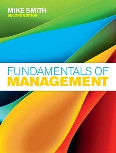 9780077126933: Fundamentals of Management (UK Higher Education Business Management)