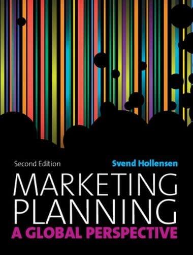 Marketing Planning (UK Higher Education Business Management)