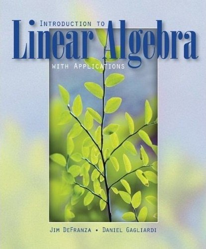 9780077127152: Introduction to Linear Algebra (UK Higher Education Mathematics)