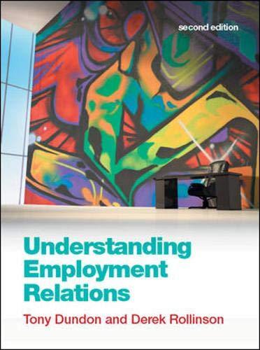 9780077127411: Understanding Employment Relations