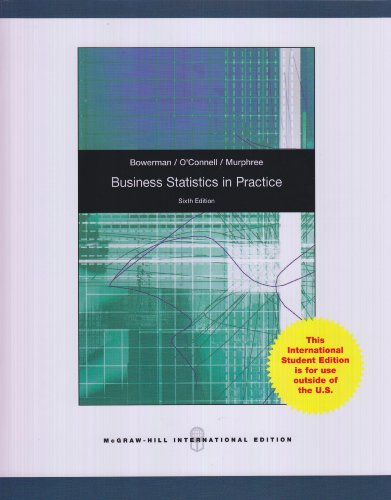 9780077129064: Business Statistics in Practice with Connect Plus Card