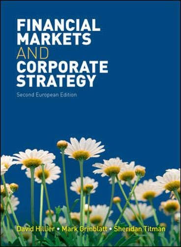 9780077129422: Financial Markets and Corporate Strategy