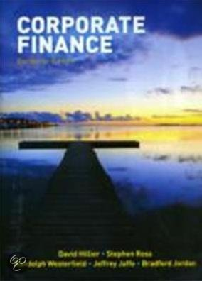 9780077129637: SW: Corporate Finance: European Edition with 4-year Connect card