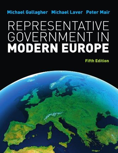 9780077129675: Representative Government In Modern Europe