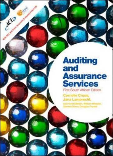 9780077129699: Auditing and Assurance Services with ACL and Omni Software (UK Higher Education Business Accounting)
