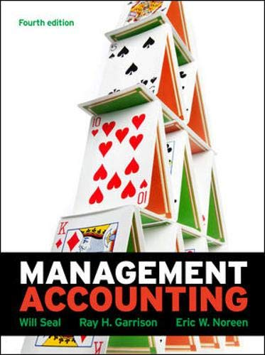 9780077129897: Management Accounting: With Connect Plus Card