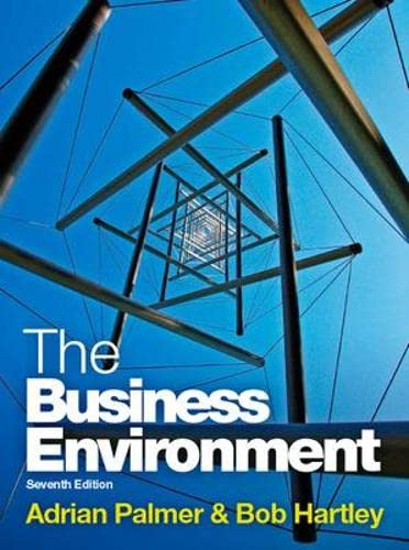 9780077130015: The Business Environment (UK Higher Education Business Management)