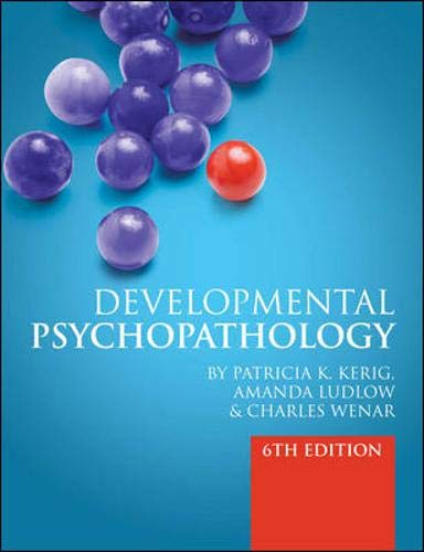 9780077131210: Developmental Psychopathology 6e