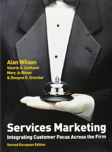 9780077131715: Services Marketing (2nd European Edition)
