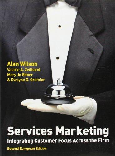 9780077131715: Services Marketing (2nd European Edition)
