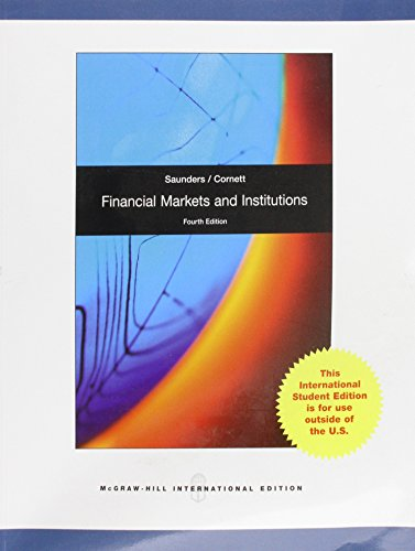 9780077132026: Financial Markets and Institutions - local reprint
