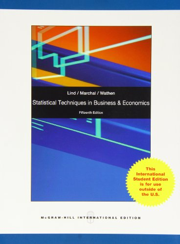9780077132668: Statistical Techniques in Business and Economics with Connect Plus Online Access