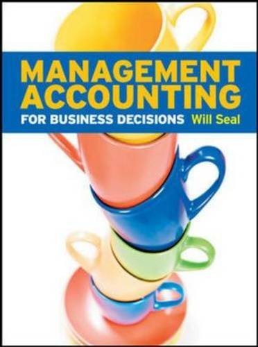 9780077132712: Management Accounting for Business Decisions with Connect Plus