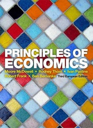 9780077132736: Principles of economics (Economia e discipline aziendali)