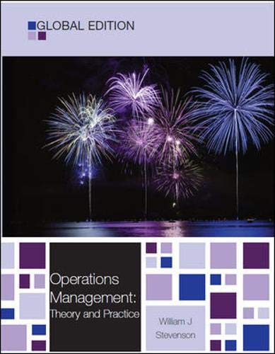 9780077133016: Operations Management: Theory and Practice