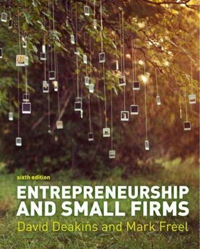 9780077136451: Entrepreneurship and Small Firms