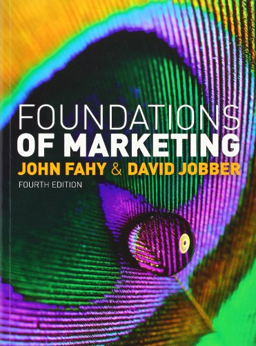 9780077137014: Foundations of Marketing