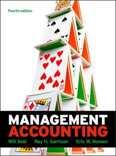 9780077138424: Management Accounting with Connect Plus Card