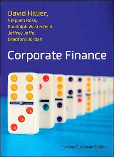 9780077139148: Corporate Finance 2e: European Edition