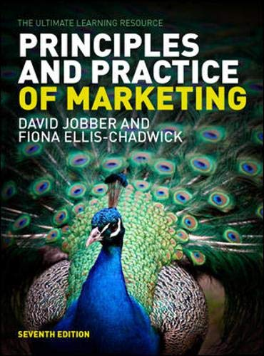 9780077140007: Principles and Practice of Marketing by Jobber/Ellis-Chadwick
