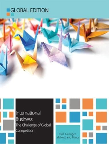 9780077140878: International Business: The Challenge of Global Competition, Global Edition (UK Higher Education Business Management)
