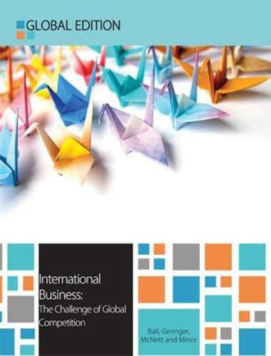 9780077140878: International Business Global Edition: The Challenge of Global Competition (UK Higher Education Business Management)