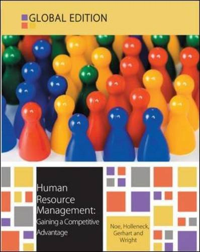 9780077140892: Human Resource Management: Gaining a Competitive Advantage