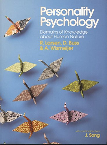 9780077145644: Personality psychology: domains of knowledge about human nature (Medicina)