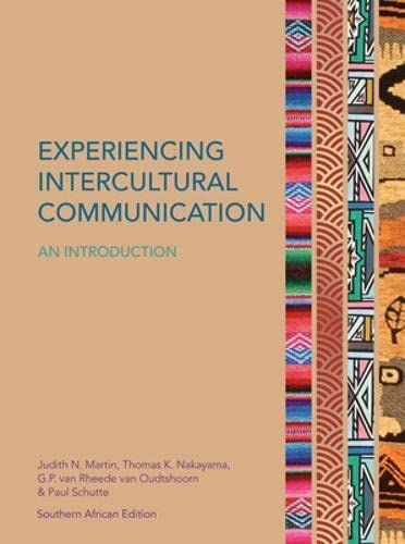 9780077146061: Experiencing Intercultural Communication: An Introduction (UK Higher Education Humanities & Social Sciences Communication Studies)