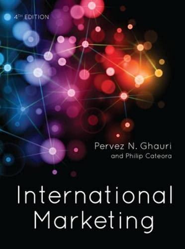International Marketing: Pervez N. Ghauri