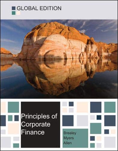 9780077151560: Principles of corporate finance global edition
