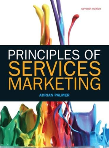 9780077152345: Principles of Services Marketing