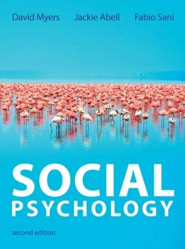 9780077152352: Social Psychology (UK Higher Education Psychology)