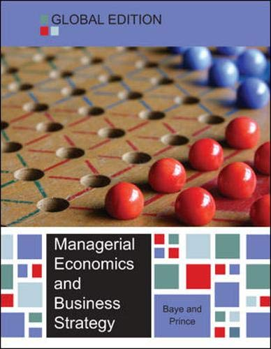 9780077154509: Managerial Economics and Business Strategy (UK Higher Education Business Economics)