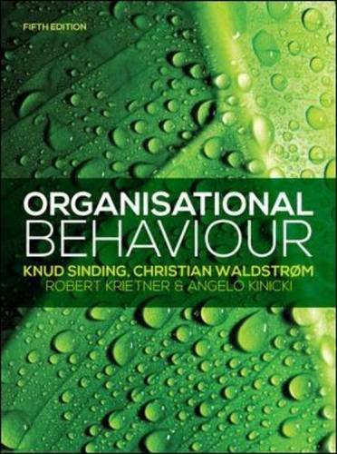 9780077154615: Organisational Behaviour (UK Higher Education Business Management)