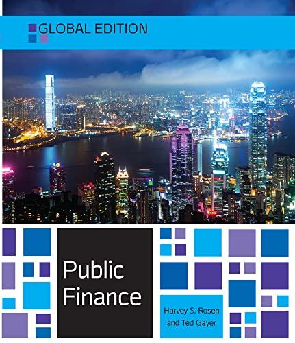 9780077154691: Public Finance, Global Edition (Economia e discipline aziendali)