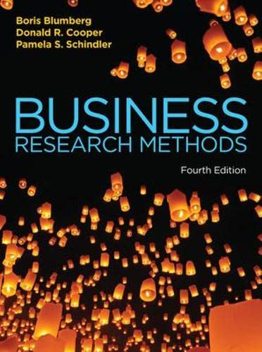 9780077157487: Business Research Methods (UK Higher Education Business Statistics)