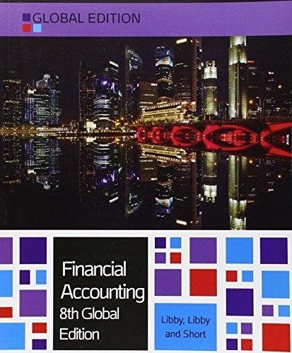 9780077158958: Financial Accounting 8e By Patricia Libby