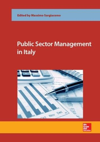9780077160999: Public Sector Management in Italy