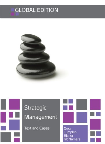 9780077161088: Strategic Management: Texts and Cases