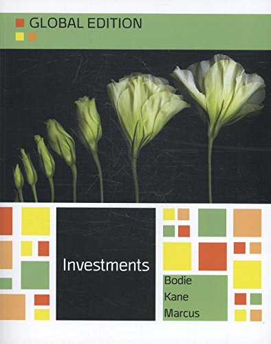 9780077161149: Investments Global Edition by Bodie, Kane and Marcus
