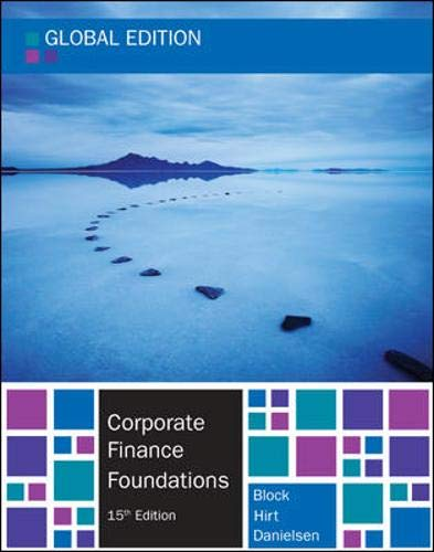 9780077161194: Corporate Finance Foundations