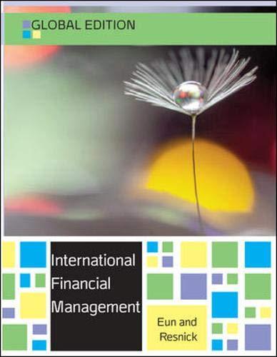 International Finance, Global Edition: Eun and Resnick