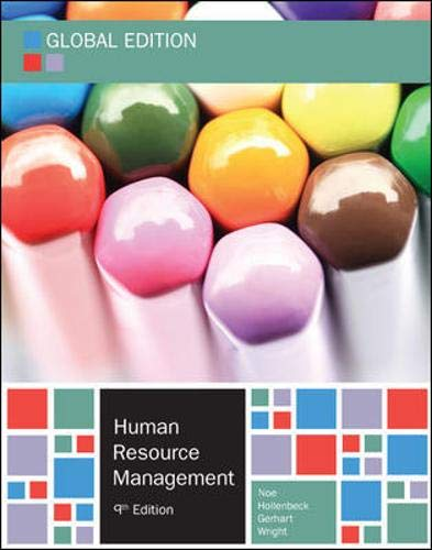 9780077164126: Human Resource Management, Global Edition