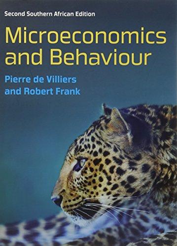 9780077167929: Microeconomics and Behaviour (UK Higher Education Business Economics)
