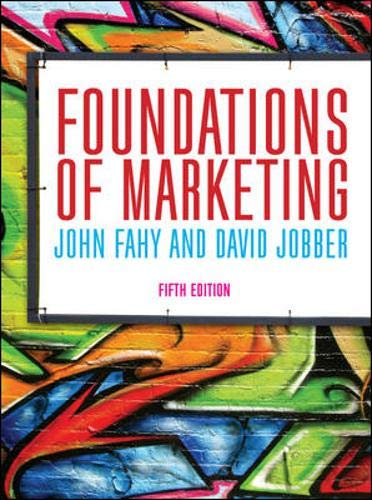 9780077167950: Foundations of Marketing (UK Higher Education Business Marketing)