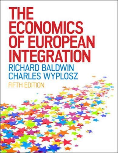 9780077169657: The Economics of European Integration